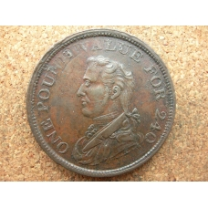 Ireland Non Local Penny 1815