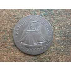 Hampshire,County, Sixpence,1811