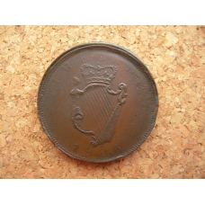 Ireland,Non Local Mule Penny 1806