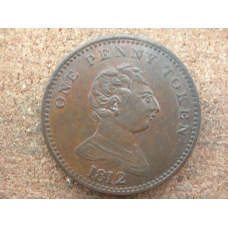 Non-Local Penny George III Royal Exchange 1812